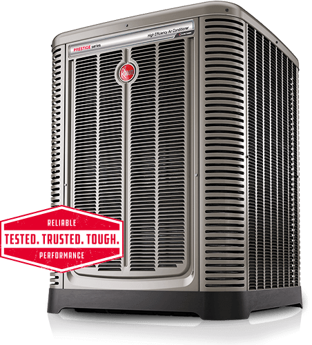 Rheem Air conditioning outside unit